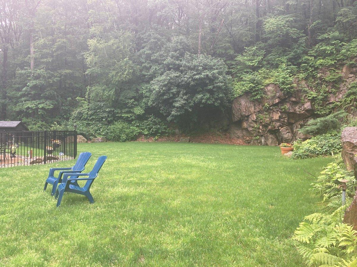 Emmaus, PA  Lawn transformation
