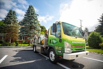 Joshua Tree pest control truck in Lehigh Valley
