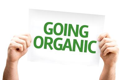 Going organic sign