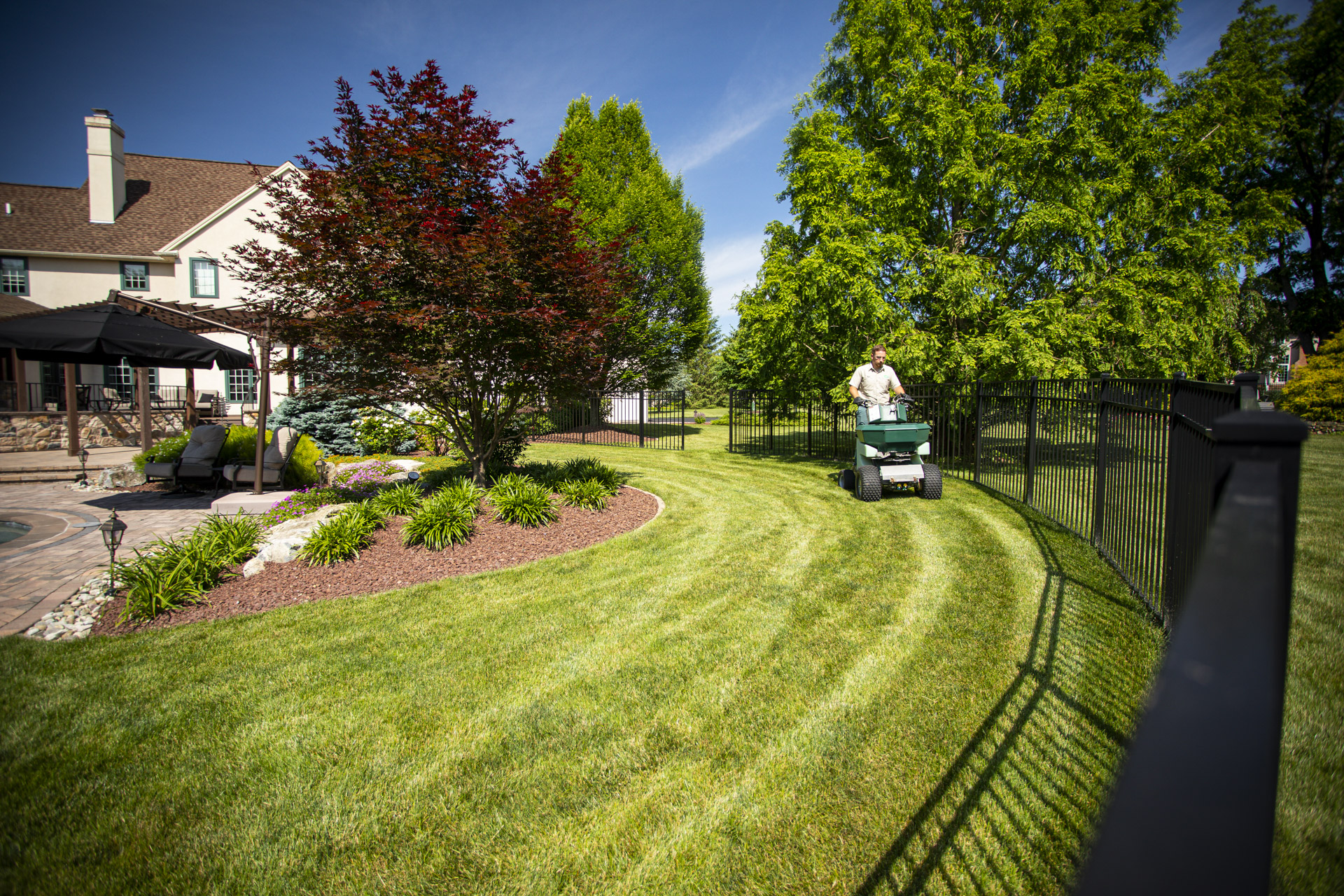 lawn care limestone Allentown, Bethlehem, Easton, PA